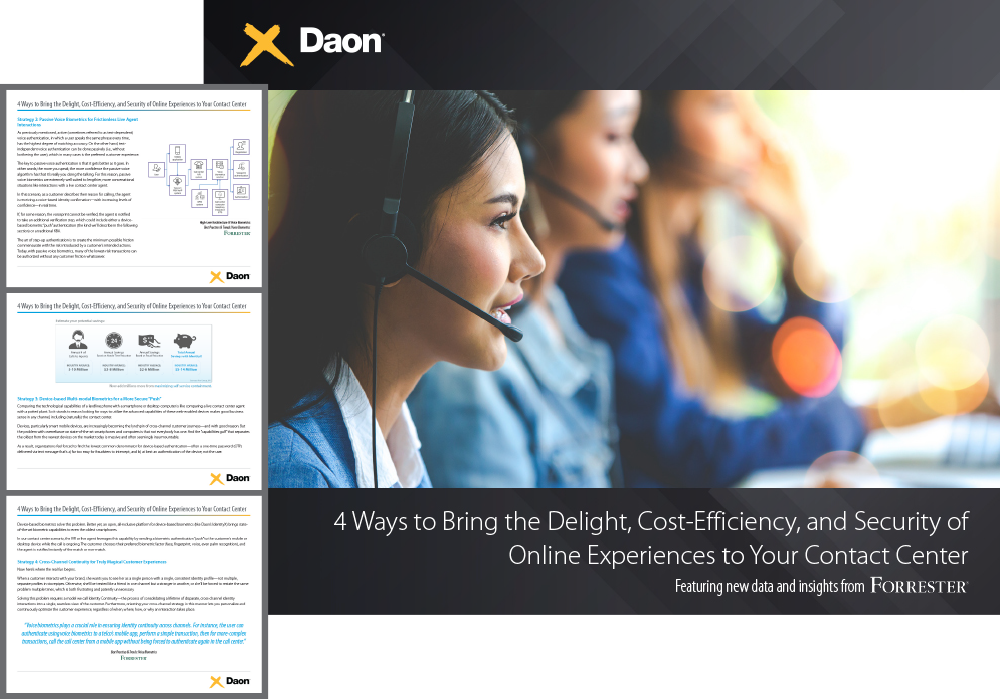 White Paper: Contact Center Experiences