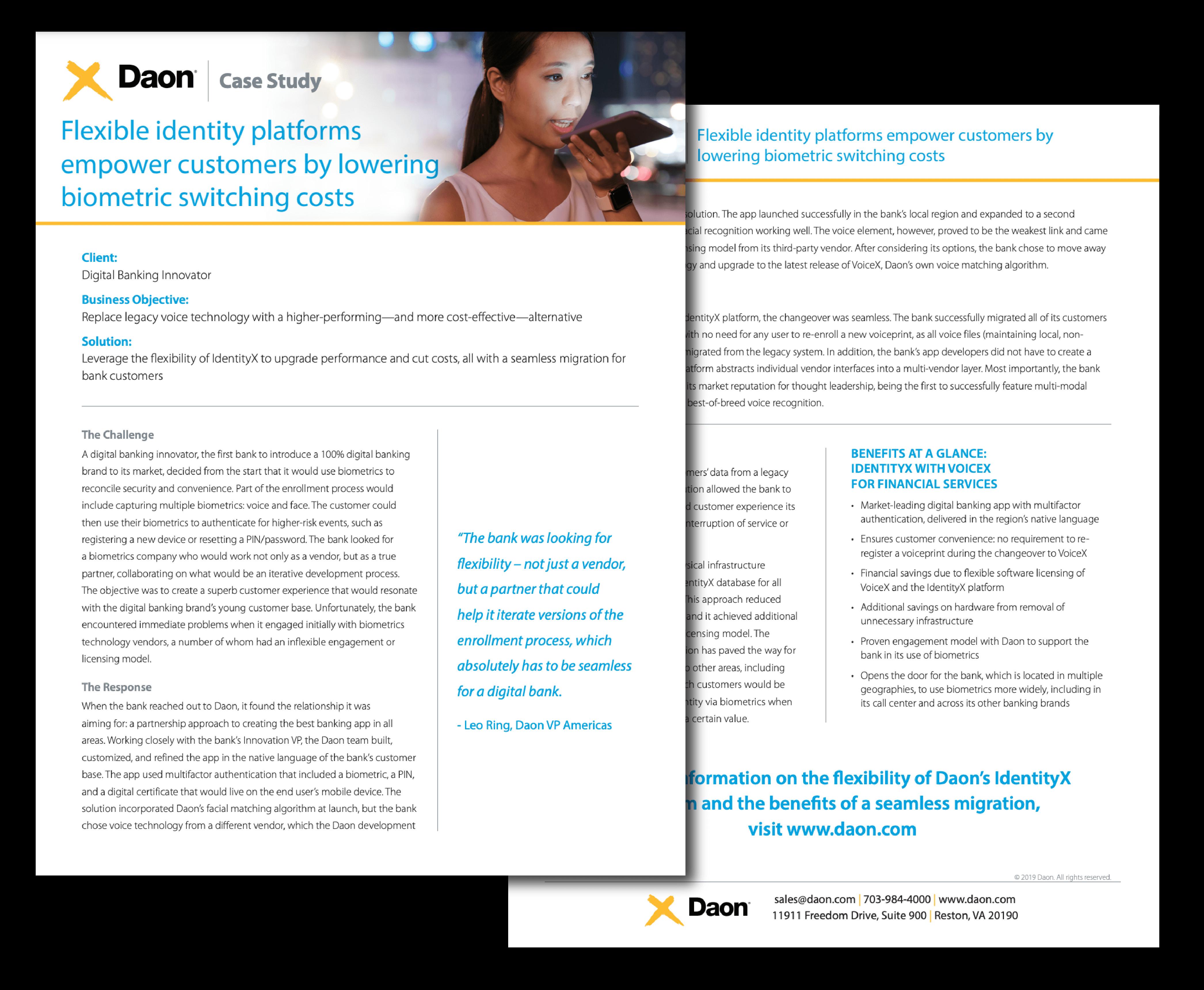 Case Study: Digital Banking Innovator
