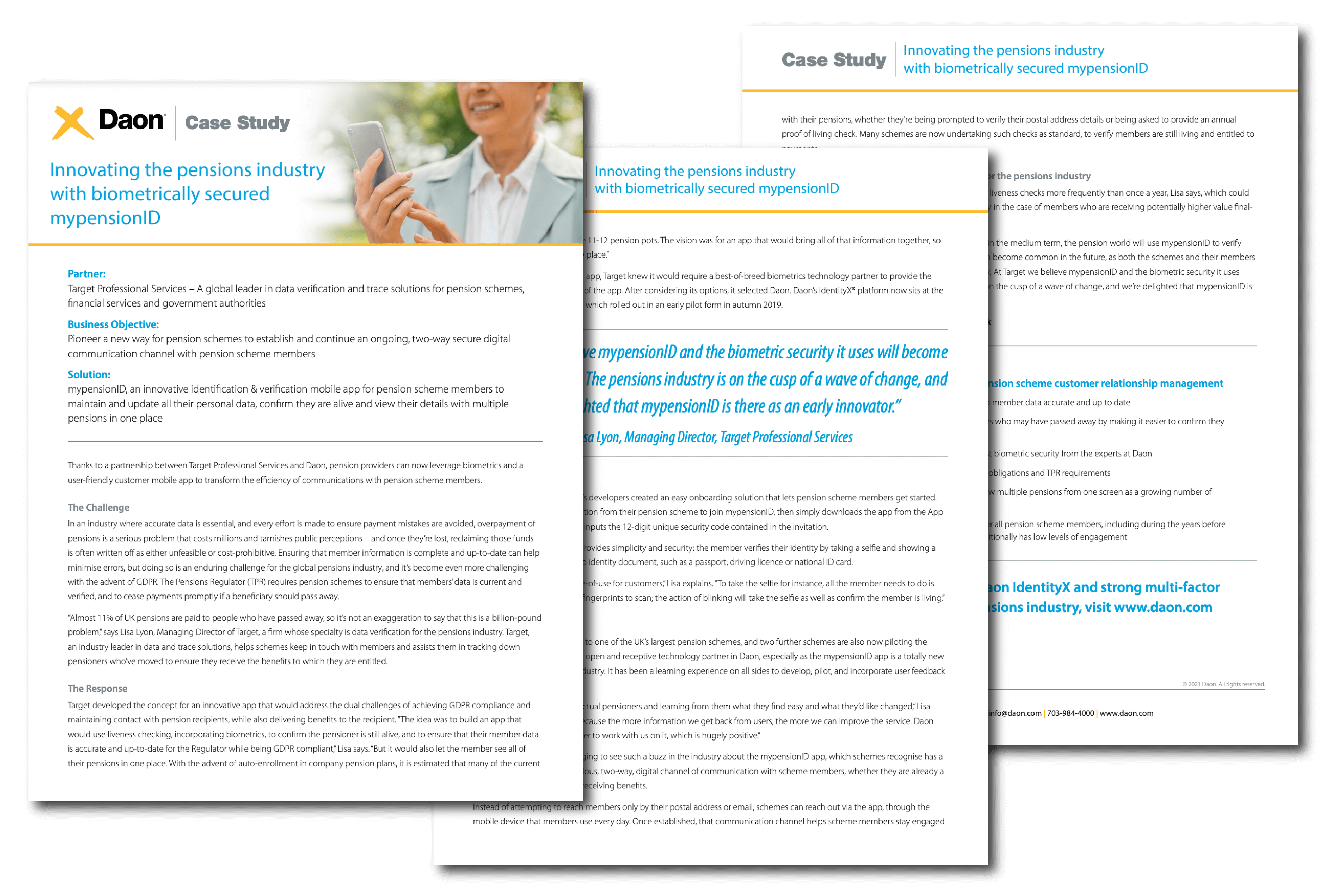 Sample of Daon's Public Customers
